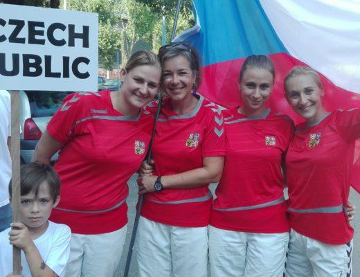 Ženy přivezly páté místo z Mistrovství Evropy