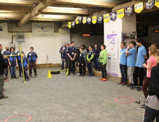 Stáž Clauda Raluy a Rallye pétanque juniorů na Ubulodromu