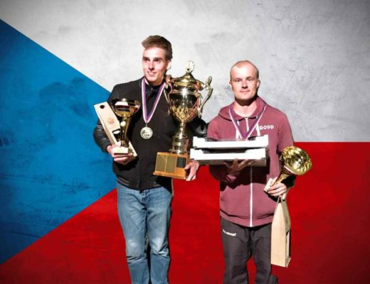 Na MČR dvojic slavili Kaplánek s Greplem svůj první mistrovský titul