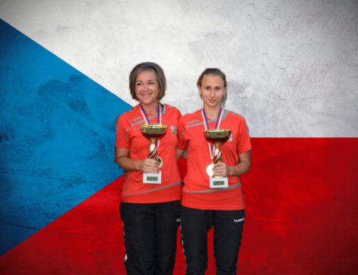 Šrubařová s Mrázkovou zvítězily na mistrovské kvalifikaci dvojic
