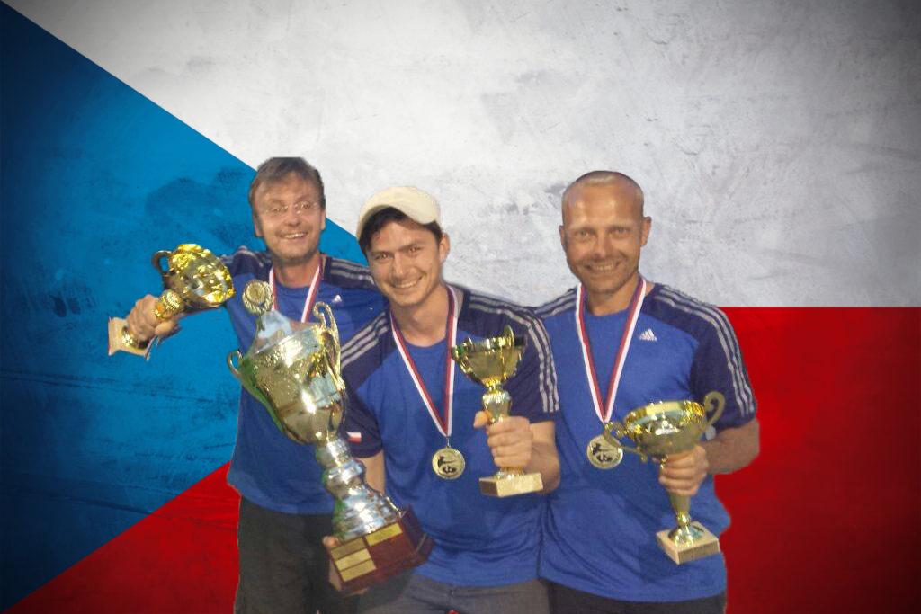 Vrchlabští slaví další republikový triumf. Mistry trojic se stali Bílek, Mašek a Brázda