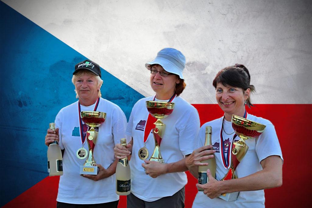 Reprezentace na MČR žen suverénně obhájila titul