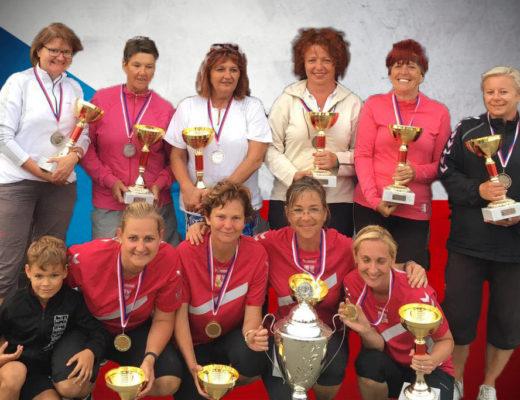 Ženská reprezentace obhájila mistrovský titul