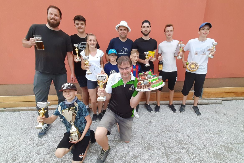 Rekordní Turnaj generací vyhrál Pepa Kúřil s Danem Bílkem