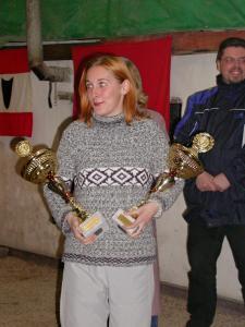 nejlepší žena + junior 2002
