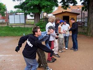 soustředění juniorů únětice 2005 013